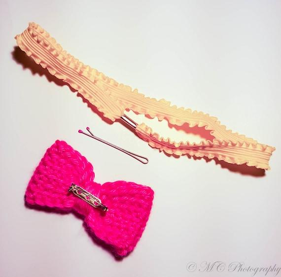 Crochet Bow Pattern Handmade Bow Easy Crochet Pattern | Etsy