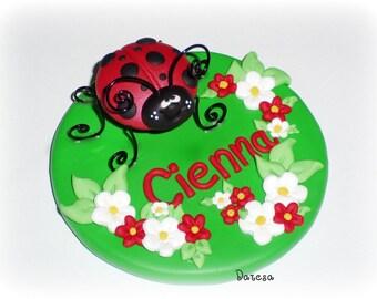 Ladybug Cake Topper