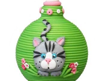 I love my Cat Christmas ornament, memorial ornament