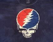 Grateful Dead Steal Your Face Batik Tshirt