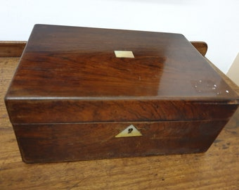 0c34cdea2 antique mahogany and mother of pearl veneer jewelry box