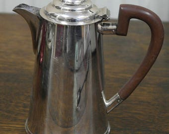 antique silver plate tea coffee pot