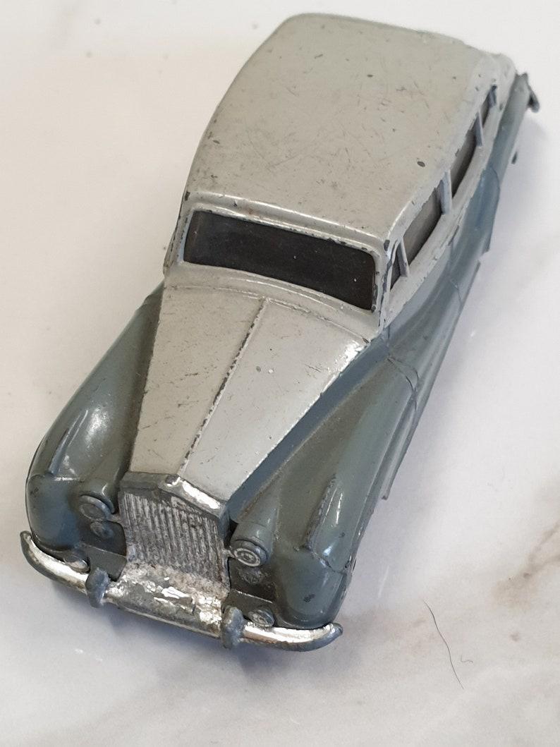 Vintage Dinky Toy Car Rolls Royce Silver Wrath Etsy