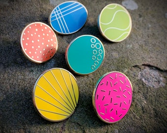 Dundee Dots Enamel Pin Collection - Limited Edition