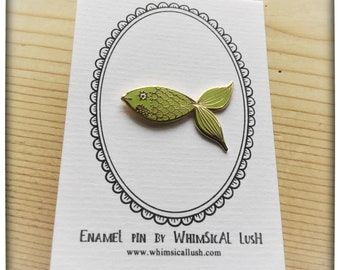 Fish Enamel Pin by WhimSicAL LusH - Limited Edition - Maggie's Penguin Parade - Fundraising for Maggie's Dundee