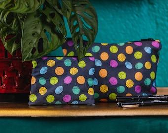 Dundee Dots - Bags & Purse - Tote Bag/ Pencil Case/ Make-up Bag/ Purse