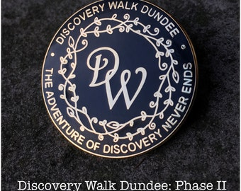 Discovery Walk Dundee Enamel Pin by WhimSicAL LusH: Limited Edition