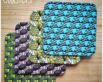 Animal & Bird Pattern Coasters by WhimSicAL LusH