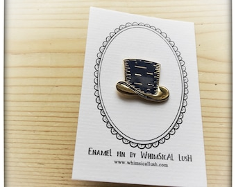 Top Hat Enamel Pin by WhimSicAL LusH - Limited Edition - Maggie's Penguin Parade - Fundraising for Maggie's Dundee
