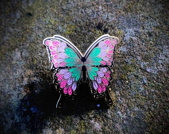 Butterfly Enamel Pin - Limited Edition