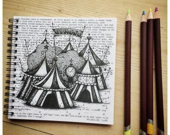 The Night Circus Notebook/ Sketchbook