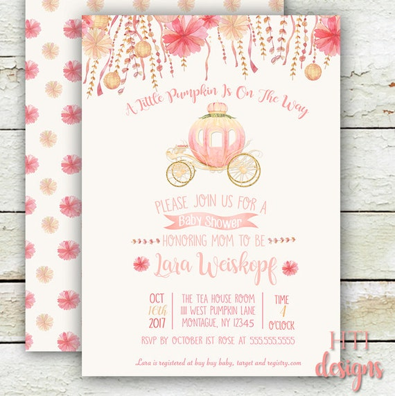 pumpkin baby shower invitation pumpkin invitation pumpkin etsy