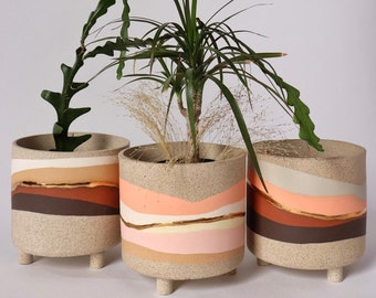 SOLD OUT!!...please read listing for details -OLA Pot (single pot, three color options)