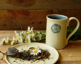 Herbal tea mug, tea mug