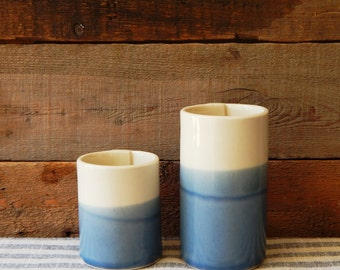 Pottery cup, wave collection