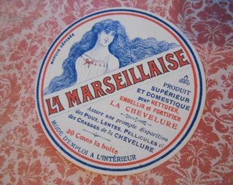 La Marseillaise Bo/îte /à musique /à manivelle m/écanisme musical /à manivelle Rouget de Lisle