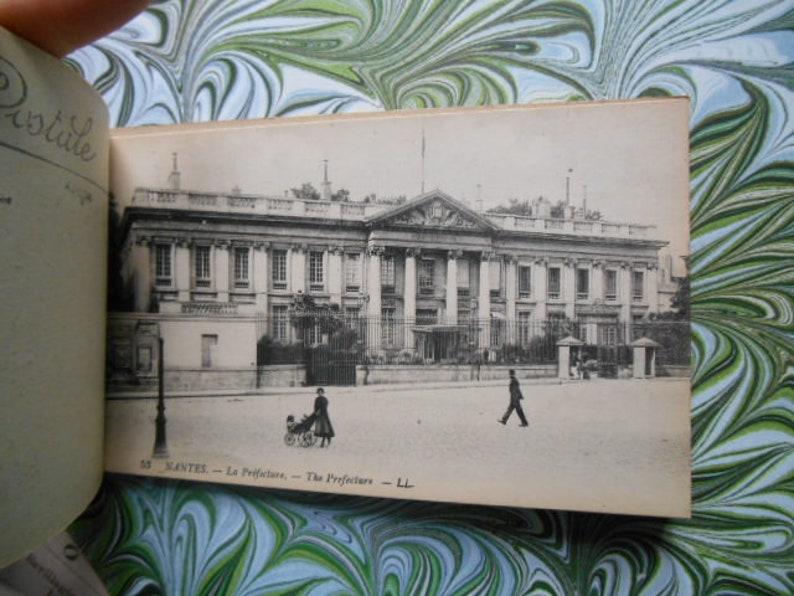 1910s Nantes France Edwardian 20 Postcard booklet