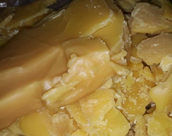 Raw Local Michigan 100% Beeswax filtered, Uncooked, unprocessed – Free Shipping