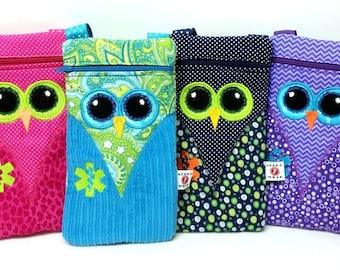 Insulated Owl Medicine Purse / EpiPen Case / Diastat Case / Asthma Case by Alert Wear