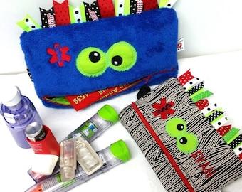 EpiPen Case /  Inhaler Case / Monster Medicine Case / Custom Designed DIY / Create Your Own Monster Case by Alert Wear