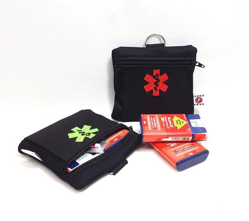 Auvi-Q Medicine Case  Inhaler Case First Aid Case by Alert image 0