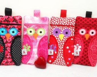 EpiPen Case, Owl Case for Epi-Pens / Medicine Pack / Epi-Pen Case / Purse