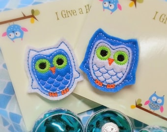 Felt Owl Pin for Food Allergy Awareness Charity Fundraiser by Love Bugs Co.