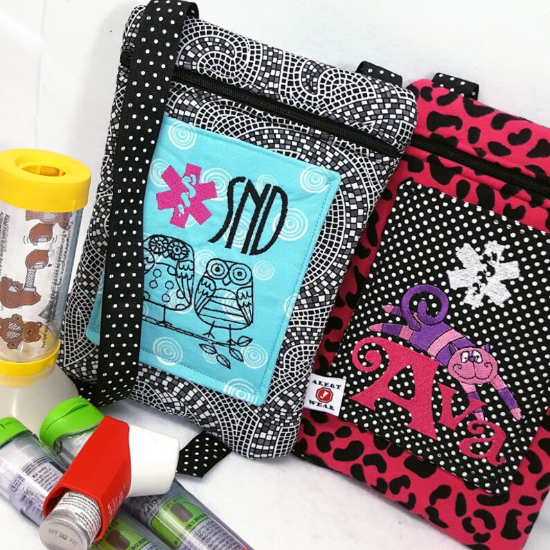 Larger Inhaler Case / Medicine Pack / Epi-Pen Case / Purse by image 0