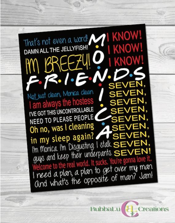 Monica Geller Quotes. Friends Show Artwork. Friends TV Show Monica. Friends  TV Show Poster. Friends Show Art. Friends TV Show.Friends Quotes