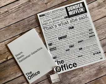 The Office Fan Collection, The Office, The Office Print, The Office Quotes, The Office Gift Collection, The Office Show