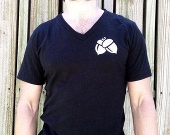 Dunking Nuts Unisex T-shirt   Printed graphic tee    Custom gift idea tee   Coffee T-shirt   Halloween