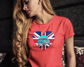 Mini Cooper Shirt   Unisex T-shirt   Printed graphic tee   Mini car inspired shirt   British Cars lover   Gifts for mom   Halloween