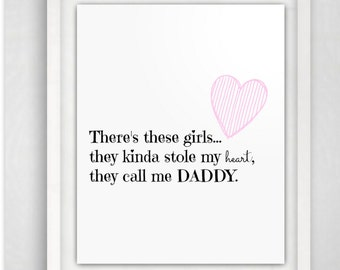 Daddy quote | Etsy