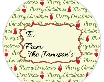 24 merry christmas stickers christmas stocking gift tag gift etsy
