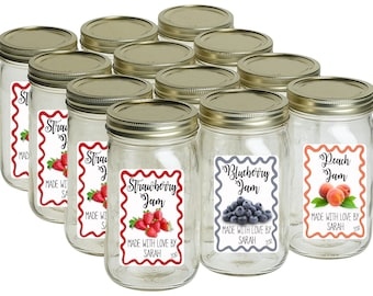 mason jar labels etsy