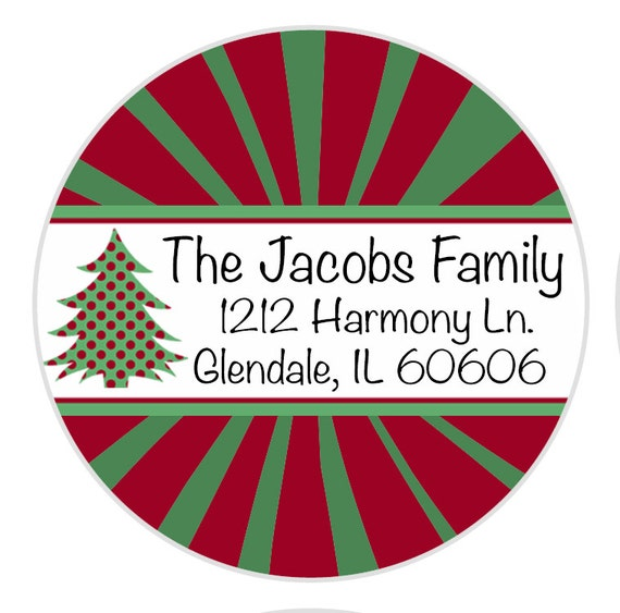 24 christmas return address label address label envelope etsy