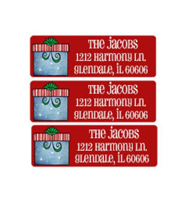 Christmas Address Labels.Christmas Address Labels Envelope Seals Return Address Labels Envelope Labels Printable Address Labels Holiday Gift Tags 637
