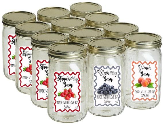 canning labels mason jar labels homemade jam labels candle etsy