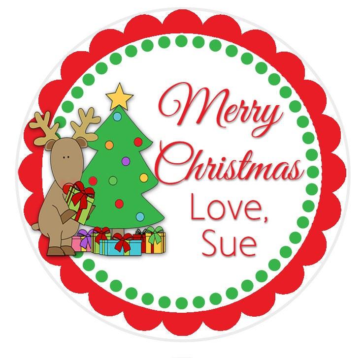 SET von 24 Weihnachten Geschenk Etiketten Geschenk-tags | Etsy