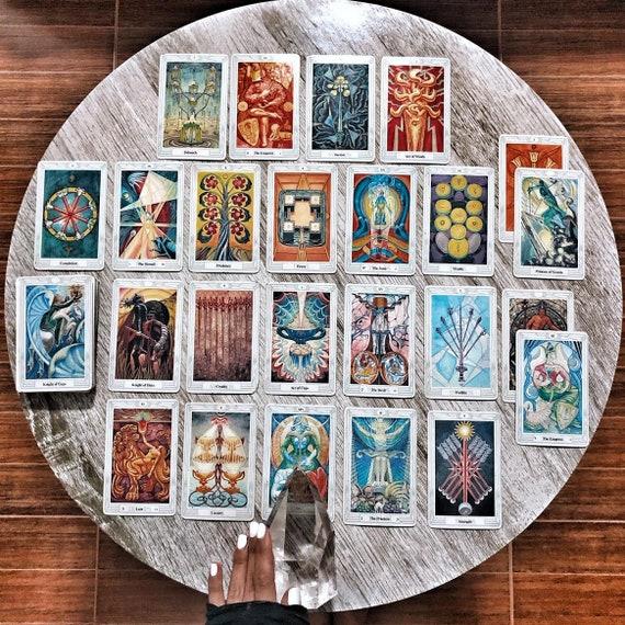 Taurus Magick September 2019 - Extended Video - Ritual Tarot Reading -  Aleister Crowley Thoth Tarot