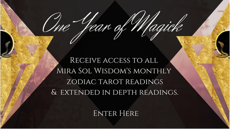 One Year of Magick All Access to Mira Sol Wisdom's image 0
