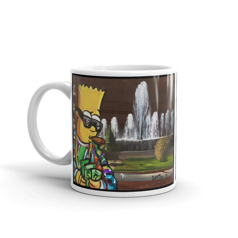 Bart Simpson Coffee Mug image 0