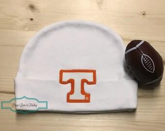 save off 4528d 06397 UT Vols Baby Hat, Vols Baby, UT Baby, Baby Vols, Baby Shower Gift, New Baby  Gift, New Dad Gift, University of TN, Tennessee Baby Hat Power T