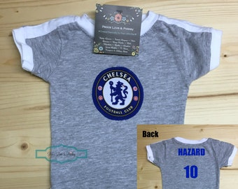 70acf0a2802 Chelsea Football Club Baby Jersey, Baby Soccer Jersey, Chelsea FC Baby,  Lions Baby, Personalized Baby Soccer Jersey, Chelsea Baby Gift