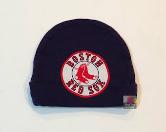 9e7ff929b Red Sox Baby Hat Made from Boston Red Sox Fabric, Red Sox Baby, Boston Baby,  Baby Boy Red Sox, Baby Red Sox, Baby Shower Gift, New Baby Gift