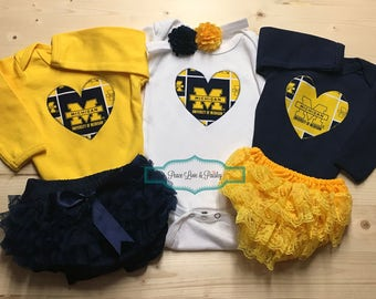 Michigan Baby Etsy