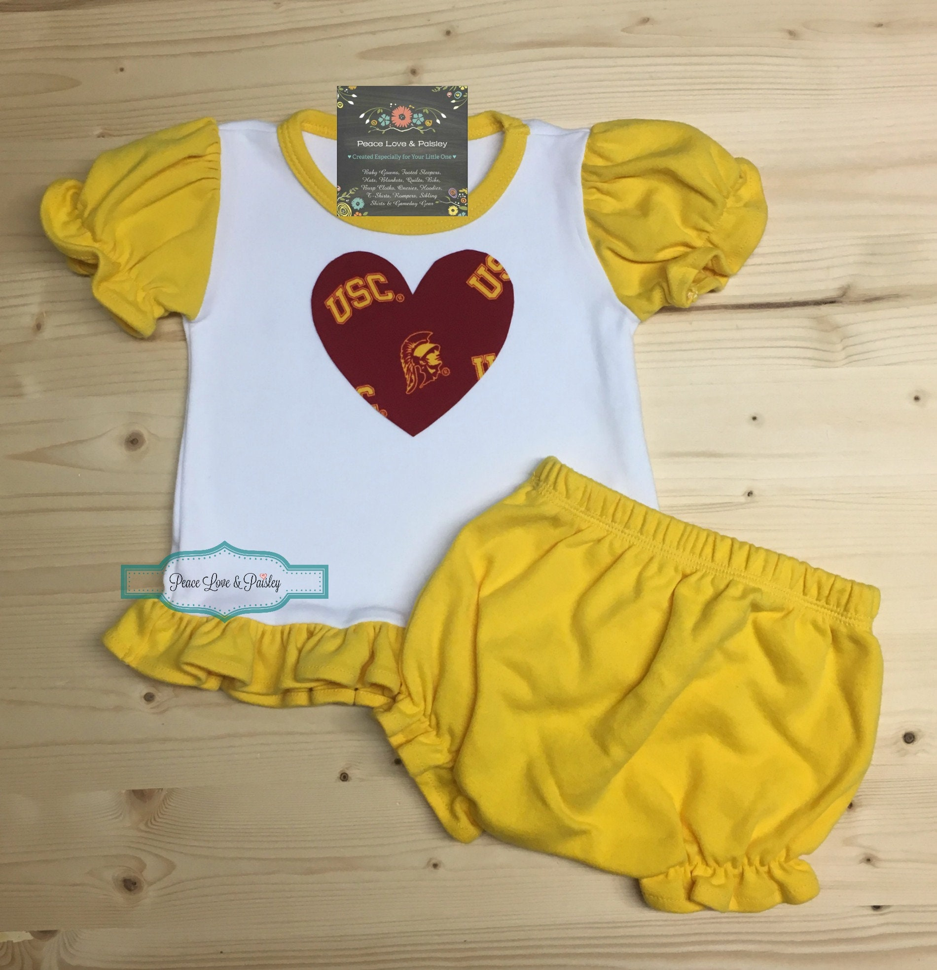 6e7643b07 USC Trojans Baby Outfit USC BabyBaby Girl USC Outfit Baby | Etsy