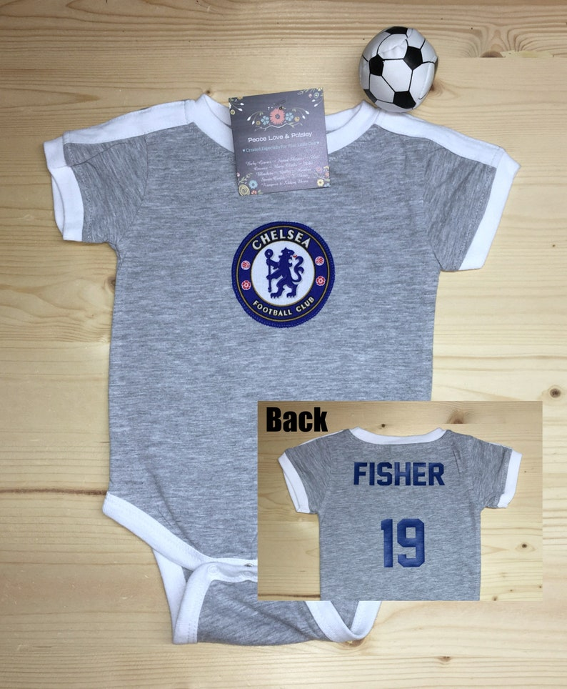 987c595b0 Chelsea Football Club Baby Jersey Baby Soccer Jersey Chelsea | Etsy
