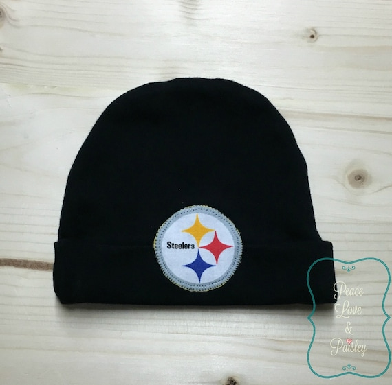 d50de6b2 Pittsburgh Steelers Baby Hat Made from Pittsburgh Steelers Fabric, Steelers  Baby, Baby Steelers Hat, Baby Shower Gift, New Baby Gift