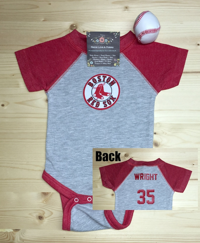 861dcbba4 Red Sox BodysuitRed Sox Baby ShirtRed SoxJerseyBaby